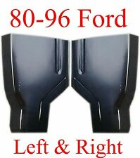 80 96 Ford Cab Corner Set, Regular Cab, 2 Door, F150 F250 F350 F450, Both L&R