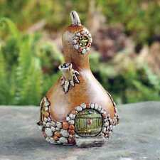 NEW FIDDLEHEAD MICRO MINIS - FAIRY GARDEN HOUSE - MINI SQUASH HOUSE-7cm HIGH
