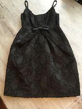 Yoana Baraschi Sz. 4 LBD Dress Black Cocktail