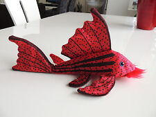 Plecostomus Plush Plushie toy sucker fish Crimson
