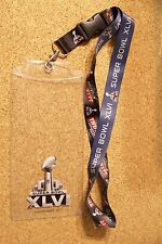 2012 Super Bowl 46 XLVI ticket holder NY New York Giants New England Patriots SB