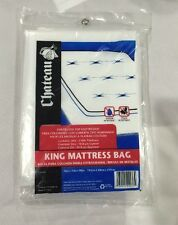 "New Chateau King Mattress Bag 76""x15""x90"" Water Stain Resistant Moving/Storage"