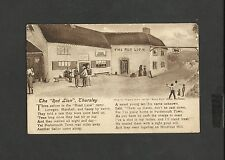 Vintage Sepia Postcard The Red Lion Thursley Godalming Surrey Unposted