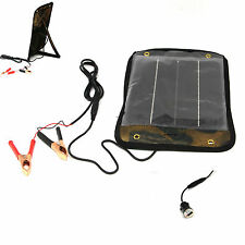 5W Solar Panel  Portable Charger usb for Car Battery  Motorcycle Boat Vehicle