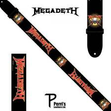 Perris Megadeth Guitar Strap - Black & Red