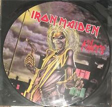 IRON MAIDEN Killers PICTURE DISC REISSUE STEVE HARRIS EX+ PAUL DIANNO