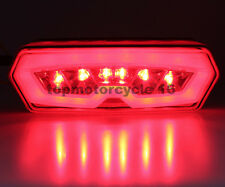 Honda Grom 125 MSX125 SEQUENCE Signal RED LED Tail Light Integrated 13 14 15 16