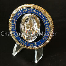 A2 Phoenix Law Enforcement Association PLEA Arizona Police Challenge Coin