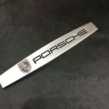 2 x  3D Trunk Rear Emblem Badge Decal Logo Car Auto for Porsche