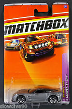 2010 Matchbox #6 Chevrolet® Corvette® ZR1™ CYBER GREY/TINTED WINDSHIELD/MOC