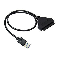 USB 3.0 to 2.5in SATA 3 Hard Drive Adapter Cable W/UASP For SSD/HDD New Adapter