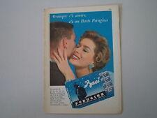 advertising Pubblicità 1959 BACI PERUGINA