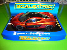 Scalextric C3643 Mclaren P1 Volcano orange DPR /lights fabulous m/b