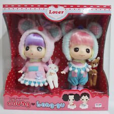 NRFB Ddung Candy Angel Couple Set 7in 18cm  Doll PVC Release 2013 Made In Korea
