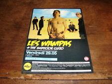 LES WAMPAS - RARE FLYER CONCERT LE PLAN !!!!!!!!!!!!!