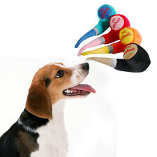 Random Creative Funny Plush Pipe Shaped Pet Dog Cat Toy Dog Gnawing Toy 18*12cm