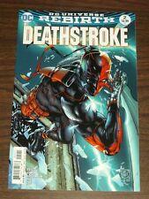 DEATHSTROKE #2 DC UNIVERSE REBIRTH VARIANT