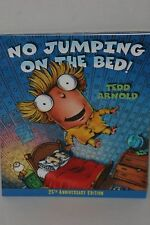 No Jumping On The Bed Children's Book by Tedd Arnold Soft Cover 25th Anniversary