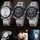 Fashion CURREN Men Stainless Steel Luxury Date Waterproof Quartz Wrist Watch