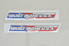 2 x GT Reproduction built in usa bmx decals/autocollant-années 1990-mi/old school