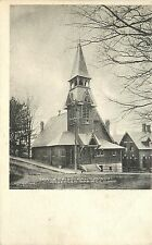 Vintage Postcard Grace Episcopal Church Stafford Springs CT Tolland County