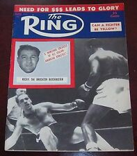 The Ring Magazine March 1956  Rocky Marciano Collectable