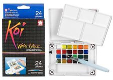 Sakura Koi Watercolors Pocket Field Sketch Box, 24ct SAK-XNCW-24N