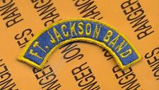 US Army Fort FT JACKSON BAND tab arc patch