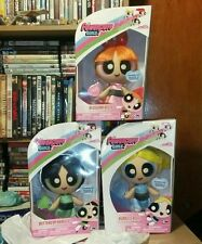 Powerpuff Girls Set Of 3 Deluxe Dolls Figures BLOSSOM BUBBLES BUTTERCUP NEW