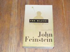 JOHN FEINSTEIN - The Majors:In Pursuit of Golf's Holy Grail (Paperback, 2004)