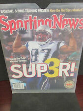 NEW ENGLAND PATRIOTS 2/18/2005 SPORTING NEWS SUPER 3 MAGAZINE