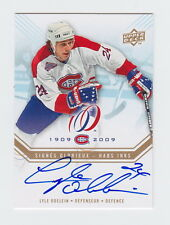 2008-09 UD CENTENNIAL LYLE ODELEIN AUTO HABS INKS #HABS-LO 08-09