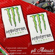 2 Adesivi Drink Energy Green Verde Sticker BIG