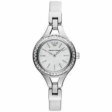 ** NEW ** Emporio Armani® watch AR7353 Ladie`s White Mother Of Pearl