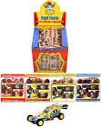 4 Self Assemble Pull Back Racing Cars / Boys Party Bag Stocking Fillers Toys DIY