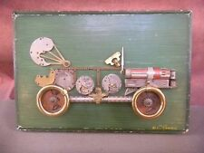 1960's  Steampunk  Picture Roadster Car Coupe  IMCO Lighter Signed RASINES