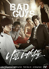 Bad Guys Korean Drama (3DVDs) Excellent English & Quality - Box Set!