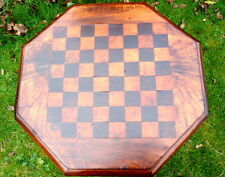REGENCY. Games Table with Octagonal Top. Chess or Draughts.  C1790 - 1830.