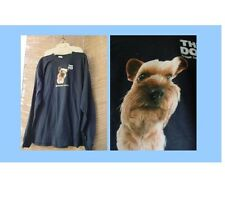 XL THE DOG ARTLIST COLLECTION t shirt YORKIE navy