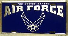Aluminum Military License Plate U S Air Force NEW