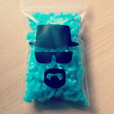 Breaking Bad Heisenberg Blue Sky Meth Crystals Prop Fake Drug Pinkman + sticker