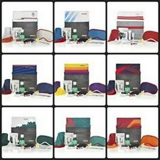 Complete set all 9 American Airlines Premium HERITAGE Amenity Kits SEALED NEW