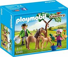 Playmobil 6949 Vet with Pony and Foal Toy