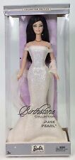 BIRTHSTONE COLLECTION JUNE PEARL BARBIE NRFB