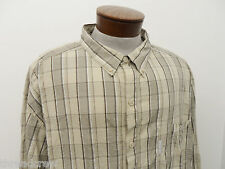 COLUMBIA SPORTSWEAR FISHING HIKING SHIRT sz 4XL mens casual plaid L/S^4347