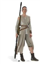 Rey Star Wars The Force Awakens Cardboard Cutout Stand Up Standee Daisy Ridley