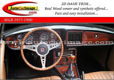 MGB MG B WOOD DASH TRIM KIT 1972 3 74 75 76 77 78 79 80