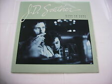 J.D. SOUTHER - HOME BY DAWN - LP CUT OUT SLEEVE U.S.A. 1984