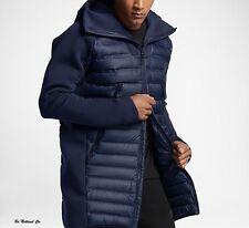 Nike Sportswear Tech Fleece AeroLoft Men's Down Parka  L Blue Casual Jacket New