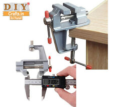 DIY Crafts® 3.5 Inch Mini Small Jewelers Hobby Clamp Table Bench Vise Tool Vicek